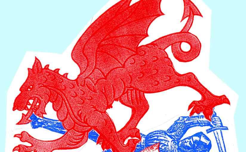 Dragons Revenge – a solo show by JamieReid.